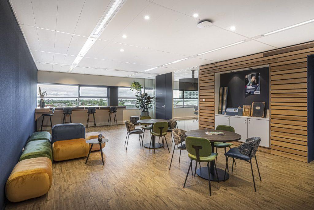 Projectinrichting kantoorontwerp flexplekken Den Bosch