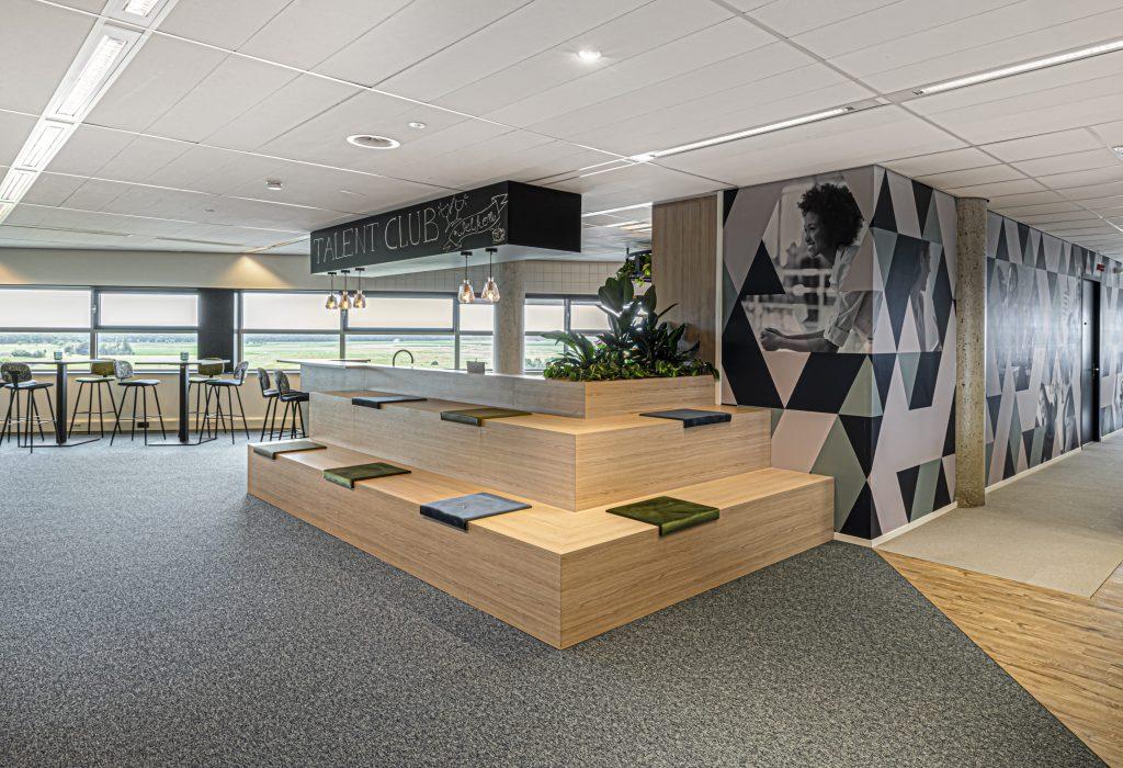 3D-visualisatie kantoorinrichting Den Bosch