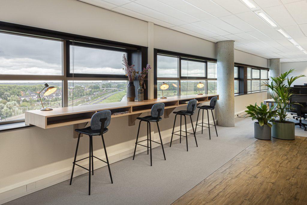 Projectinrichting kantoorontwerp maatwerk Den Bosch