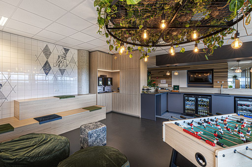 Kantoorinrichting interieurontwerp maatwerk Den Bosch