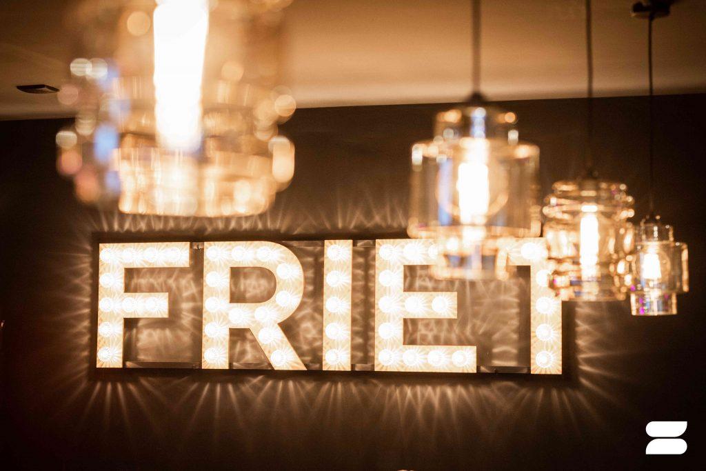 Projectinrichting frietzaak Friet Panters Breda